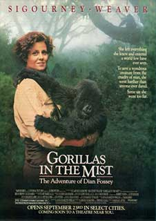 Sigourney Fever: Gorillas in the Mist