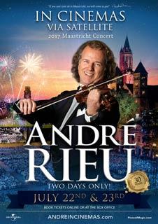 André Rieu's 2017 Maastricht Concert Encore (Via Satellite)