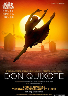 Royal Ballet: Don Quixote (Live)