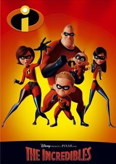 Pixar: The Incredibles
