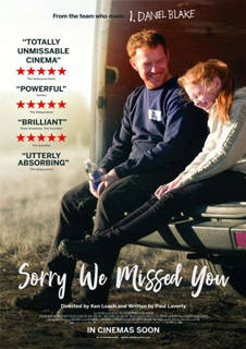 Sorry We Missed You + Satellite Q&A with Ken Loach