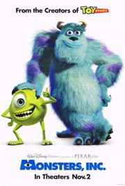 Pixar: Monsters Inc.